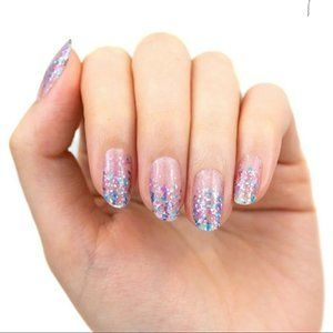 Less Glitter More Bitter Color Street Nail Strips